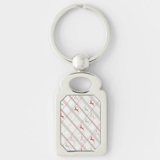 Reindeer Pattern Keychain
