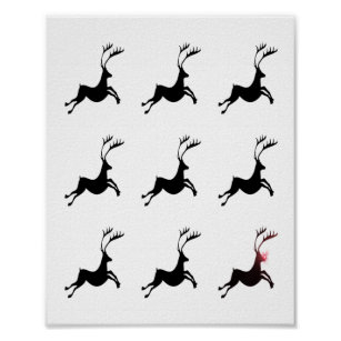 Rudolph The Red Nosed Reindeer Posters Photo Prints Zazzle