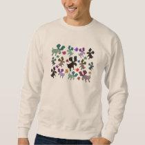 Reindeer Pattern Sweatshirt