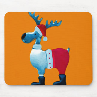 Reindeer Peace Christianity Holidays Christmas Mouse Pads