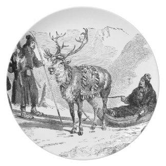 Reindeer Plates