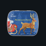 """Reindeer POOP Christmas Candy Boys Funny Gag Gift Candy Tin<br><div class=""""desc"""">Every little boy would like to gross his sister out with reindeer poop candy. Jelly Beans in a tin. Nifty stocking stuffer.</div>"""