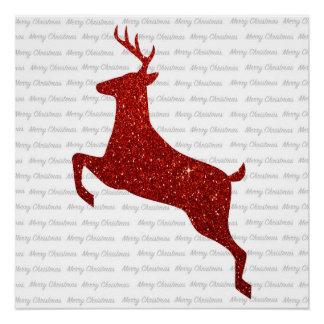 Reindeer Posters   Zazzle
