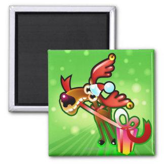 Reindeer Presents Magnet