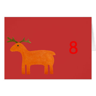 Reindeer Puppet Table Tent Template