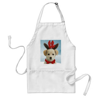 Reindeer Puppy Christmas Apron