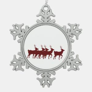reindeer reddish brown.png ornament