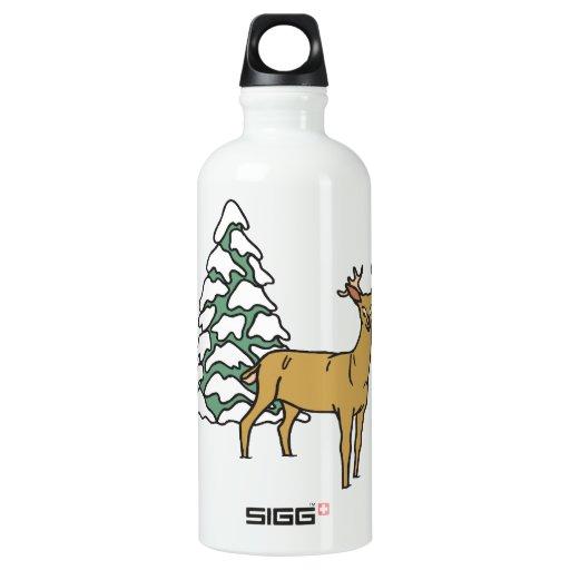 Reindeer SIGG Traveler 0.6L Water Bottle