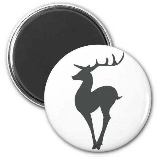 Reindeer Silhouette Magnets