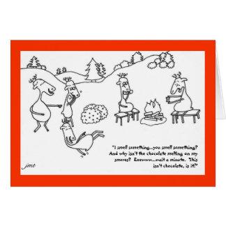Reindeer Smores Card