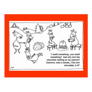 Reindeer Smores Postcards