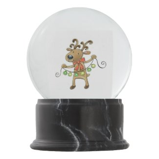 Reindeer Snow Globes