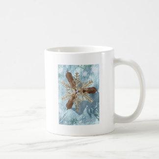 reindeer snowflake antlers mugs
