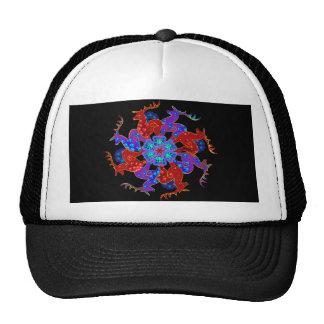 Reindeer Snowflake Cap Trucker Hat