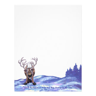 Reindeer Stationery