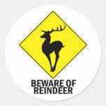 Reindeer Sticker