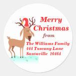 Reindeer Sticker - Large