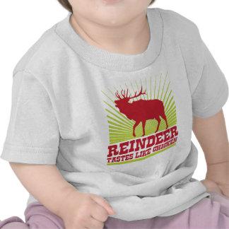 Reindeer Taste Like Chicken Shirt