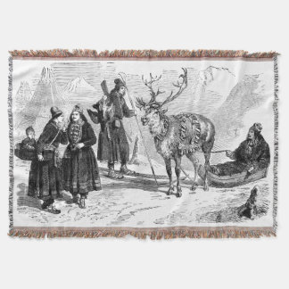 Reindeer Throw