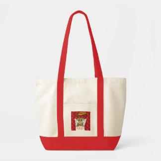 Reindeer Tis The Season to Be Vegan  Angel Gifts Tote Bag