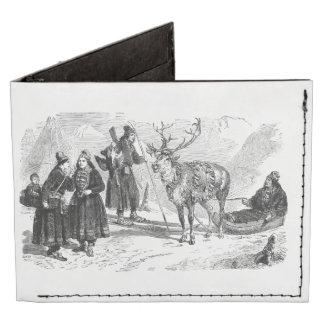 Reindeer Tyvek® Billfold Wallet