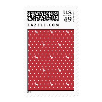Reindeer with dots Postage