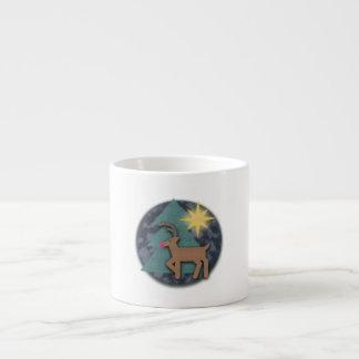 Reindeer World Espresso Cup