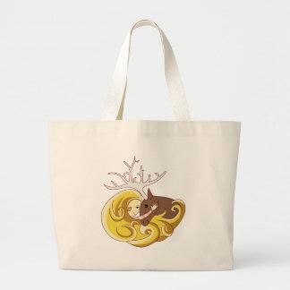 reindeergirl_self tote bag