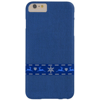 Reindeers and Hearts Barely There iPhone 6 Plus Case