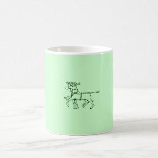 Reindeers Classic White Coffee Mug