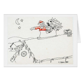 Reindeers on the Roof Cards