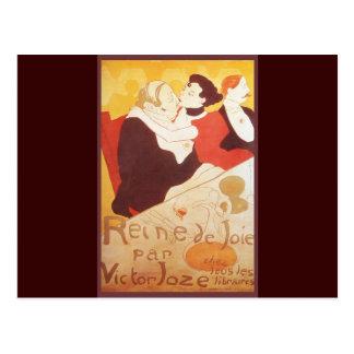 Reine de Joie par Victor Joze Postcard