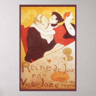 Reine de Joie par Victor Joze Poster