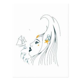 Reine des mers cartes postales