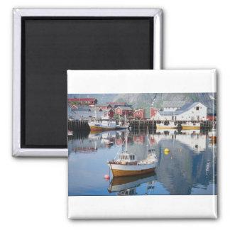 Reine fishing village, Lofoten, Norway Magnet