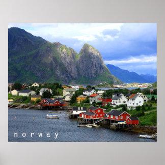 Reine, Norway Poster