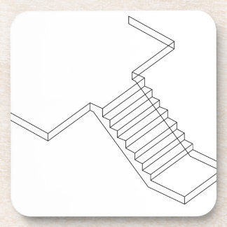Reinforced Cement Concrete stair Beverage Coaster