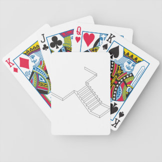 Reinforced Cement Concrete stair Bicycle Playing Cards