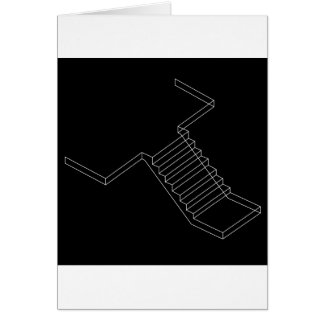 Reinforced Cement Concrete stair Greeting Card