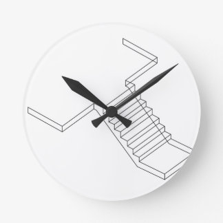 Reinforced Cement Concrete stair Round Clock