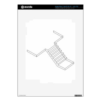 Reinforced Cement Concrete stair iPad 3 Skins