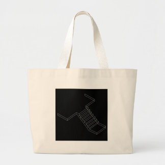 Reinforced Cement Concrete stair Large Tote Bag