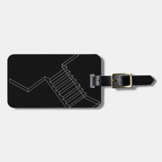Reinforced Cement Concrete stair Luggage Tags