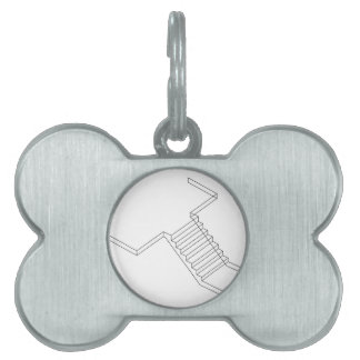 Reinforced Cement Concrete stair Pet Tag
