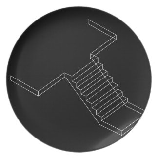 Reinforced Cement Concrete stair Dinner Plate