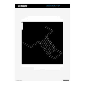 Reinforced Cement Concrete stair iPad 2 Skin