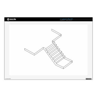 Reinforced Cement Concrete stair Decal For Laptop