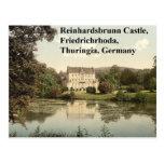 Reinhardsbrunn Castle, Friedrichrhoda, Thuringia Postcard