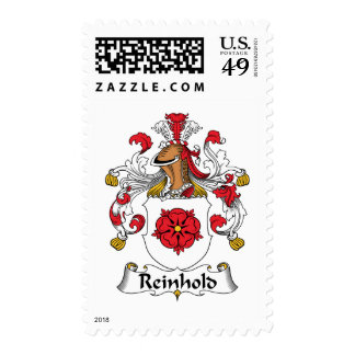 Reinhold Family Crest Postage Stamps