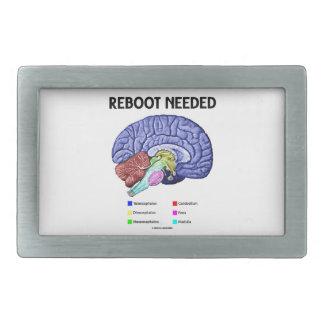 Reinicialización necesaria (humor anatómico del ce hebilla cinturon rectangular